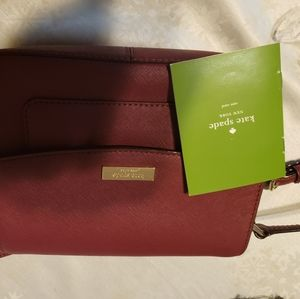 Kate Spade leather crossbody purse, authentic